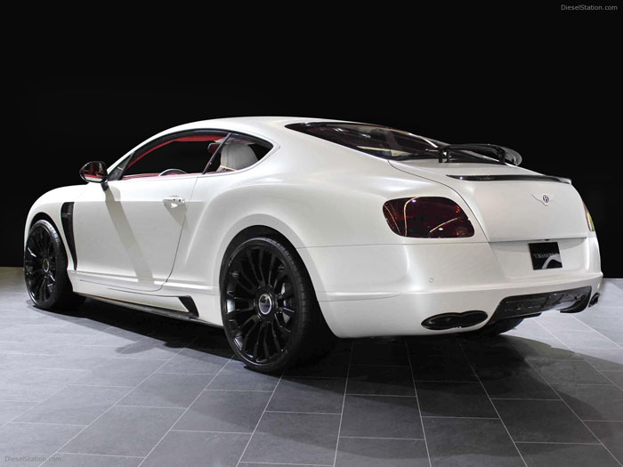 White 2012 Bentley Continental GT