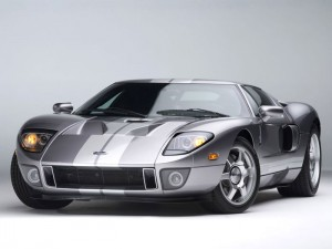 2005 Silver Ford GT