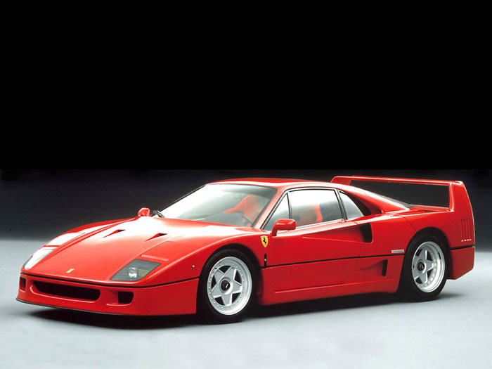 Red F40