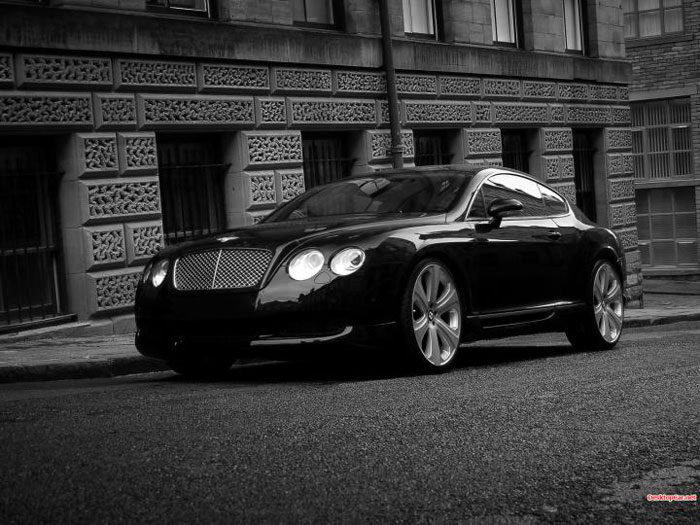 Black 2013 Bentley Continental GT