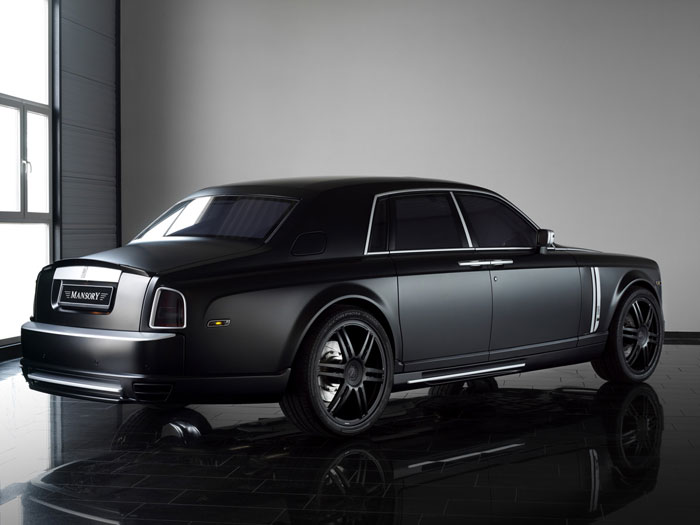 2012 Black Matte Rolls Royce Phantom