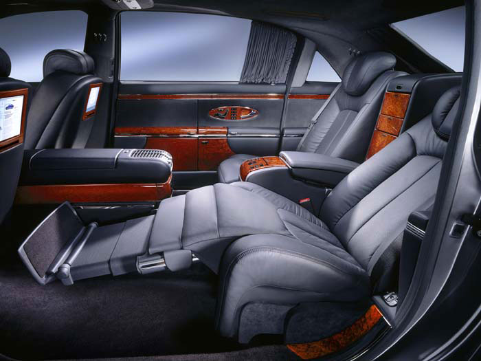 Maybach back seat