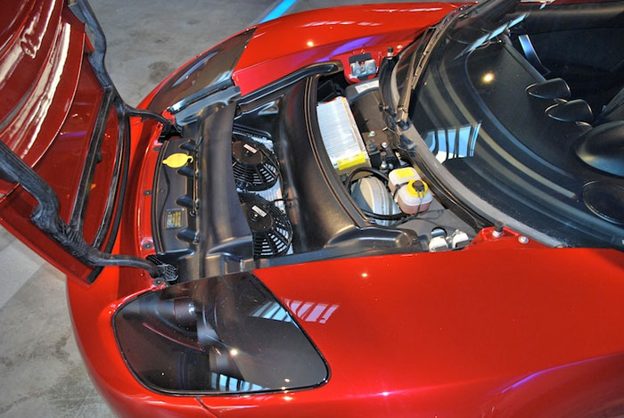 Tesla Roadster engine