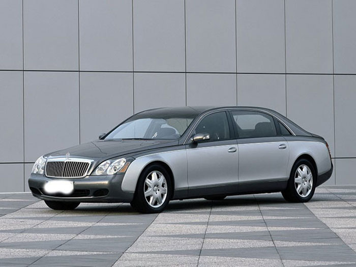 Two tone Maybach 62