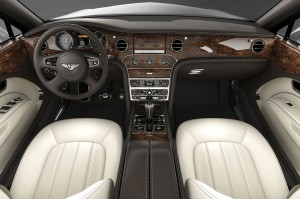 Bentley-Mulsanne interior