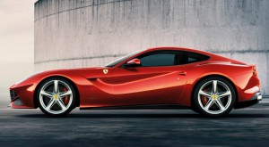 F12 Berlinetta Side view