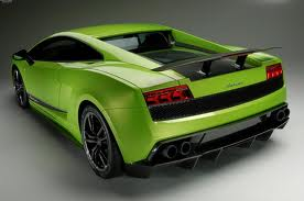 Lambhorghini Gallardo lp570-4 Superleggera-back