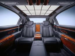 Maybach 62S-interior